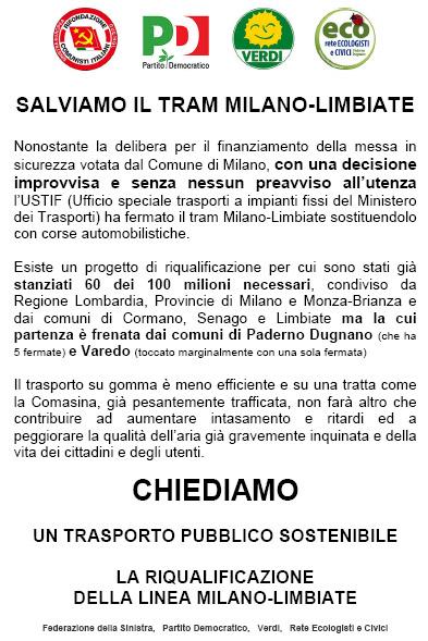 Salviamo il tram Milano-Limbiate