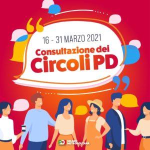 Consultazione dei Circoli PD